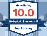 Top Attorney AVVO Badge